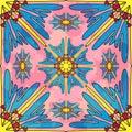 Seamless pattern. Vintage decorative elements vector illustration
