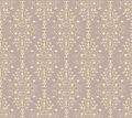 Seamless pattern vintage design swatch is included in swatches window Stock Image