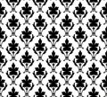 Seamless pattern wallpaper floral Stock Photos