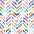 Seamless pattern of watercolor hand painting stains. Vector illustration created with custom brushes, not auto-tracing