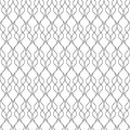 Seamless pattern of wavy lines. Geometric wallpaper. Unusual lat