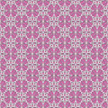 Seamless pattern with white flowers