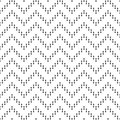 Seamless pattern of zigzag lines. Geometric background.
