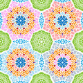 Seamless patterns with abstract painted squares
