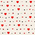 Seamless patterns with black hearts. Seamless background with hearts. Valentine`s Day. Gift wrap, print, cloth, cute background f
