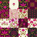Seamless patterns with decorative ornament Stock Image