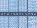 Seamless Patterns With Plants ...