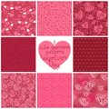 Seamless patterns valentine s day vector texture to the wedding and pattern can be used for wallpaper pattern fills web page Royalty Free Stock Images
