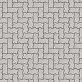 Seamless pavement pattern Royalty Free Stock Photo