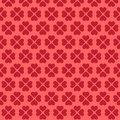 Seamless pink heart pattern Stock Photo