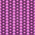 Seamless pink knitting fabric Royalty Free Stock Photos