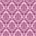 Seamless pink retro Wallpaper for design Royalty Free Stock Photo
