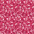 Seamless pink texture with sequins