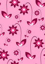 Seamless pink wallpaper Royalty Free Stock Photo