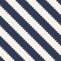 Seamless pixelated diagonal stripes pattern textured wallpaper Stock Images