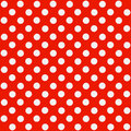 Seamless Polka dot pattern Royalty Free Stock Photo