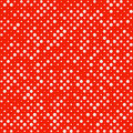 Seamless polka dot pattern illustration Royalty Free Stock Image