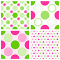 Seamless polka dots Royalty Free Stock Photography