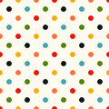 Seamless Polka Dots Background