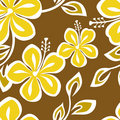 Seamless Polynesia Pattern Royalty Free Stock Photos