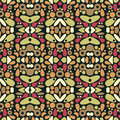 Seamless psychedelic ornament beautiful patterns in Royalty Free Stock Photography