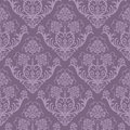 Seamless purple floral wallpaper Royalty Free Stock Photo