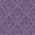 Seamless purple floral wallpaper Royalty Free Stock Images
