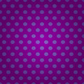 Seamless purple polka dots pattern Royalty Free Stock Image