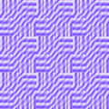 Seamless purple stripes pattern in squares shifted and blurred