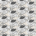Seamless rain pattern Stock Images