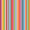 Seamless rainbow curved stripes color line art vector background Royalty Free Stock Photo