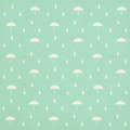 Seamless raindrops pattern with umbrella Royalty Free Stock Photos
