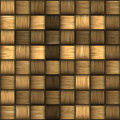 Seamless rattan weave background Stock Photography