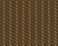 Seamless rattan weave background macro image see my other works in portfolio Stock Image