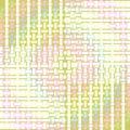 Seamless rectangles pattern pastel green pink yellow Royalty Free Stock Photo