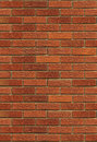 Seamless Red Brick Wall Stock Image
