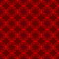 Seamless red Chinese style arranged in a crisscross square pattern. Royalty Free Stock Photo