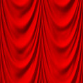 Seamless red drape texture Royalty Free Stock Images