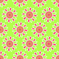 Seamless red-green pattern. Royalty Free Stock Images