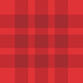 Seamless Red Plaid Pattern Royalty Free Stock Photos