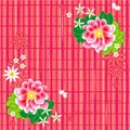 Seamless (repeatable) floral pattern or background Stock Photography
