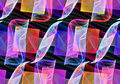 Seamless repeatable fractal smooth pattern Royalty Free Stock Photo