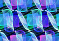 Seamless repeatable fractal smooth pattern Stock Photo