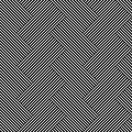 Seamless (repeatable) geometric abstract monochrome pattern. Til