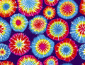 Seamless Repeating Tie Dye Background Stock Photography