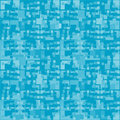 Seamless retro blue pattern Royalty Free Stock Image
