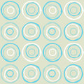 Seamless retro circles