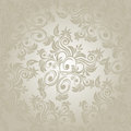 A seamless retro damask pattern Stock Image