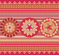 Seamless retro pattern Stock Photos
