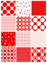 Seamless retro polka dot Royalty Free Stock Photo
